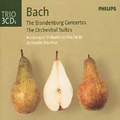 Trio - Bach: Brandenburg Concertos, etc / Marriner, ASMF