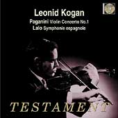 Paganini: Violin Concerto no 1;  Lalo / Bruck, Kogan