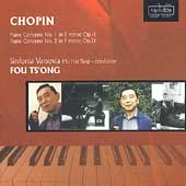 Chopin: Piano Concertos 1 & 2 / Fou Ts'ong, Mu Hai Tang, etc