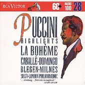 Basic 100 Vol 28 - Puccini: La Bohème Highlights / Solti