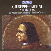 Tartini: Trio Sonatas / Casazza, La Magnifica Comunit&agrave;