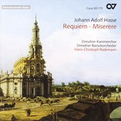 Hasse: Requiem, MIserere / Rademann
