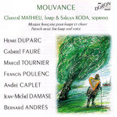 Mouvance - French music for harp and voice / Koda, Mathieu