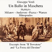 Verdi: Un Ballo in Maschera Highlights, etc / Warren, et al