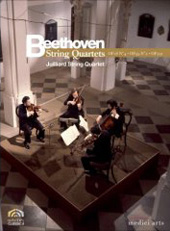 Juilliart String Quartet plays Beethoven / Quartets Nos. 4, 7