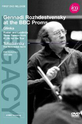 Rozhdestvensky at the BBC Proms / Glinka, Tchaikovsky [DVD]