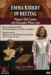 Recital at Wigmore Hall / Emma Kirkby, soprano; Christopher Wilson, lute [DVD]