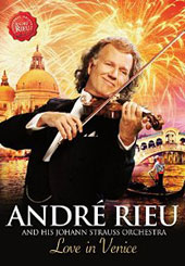 André Rieu and his Johann Strauss Orchestra / Love In Venice - The 10th Anniversary Concert [DVD]