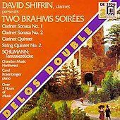 Brahms Soirées ' Delos Double / Various Artists