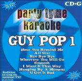 Party Tyme Karaoke: Party Tyme Karaoke: Guy Pop, Vol. 1