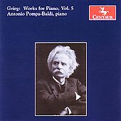 Grieg: Works for Piano Vol 5 / Pompa-Baldi