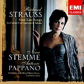 R. Strauss: Four Last Songs, etc / Stemme, Pappano, et al