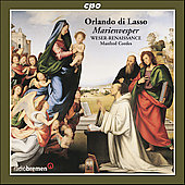 Lasso: Marienvesper / Manfred Cordes, Weser-Renaissance