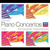 Ultimate Piano Concertos - The Essential Masterpieces
