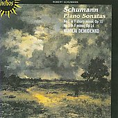 Schumann: Piano Sonatas no 1 and 3, etc / Nikolai Demidenko