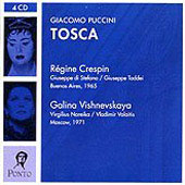 Puccini: Tosca, etc / Bartoletti, Crespin, Di Stefano, Taddei, et al