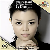 Chopin: Piano Concertos / Sa Chen, Lawrence Foster, Gulbenkian Foundation SO Lisbon