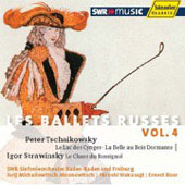 Les ballets Russes Vol 4 - Tchaikovsky, Stravinsky / Ahronovitch, Wakasugi, Bour, et al