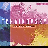 Tchaikovsky: Ballet Music;  Glazunov: Les Sylphides / Len&aacute;rd, Yablonsky, Mogrelia, et al