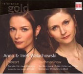 Reference Gold - Mozart, Rachmaninov / Anna & Ines Walachowski