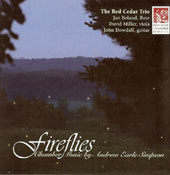 Fireflies - Andrew Earle Simpson: Chamber Music / The Red Cedar Trio