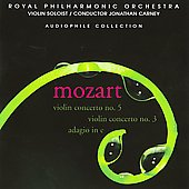 Mozart: Violin Concertos 5 & 3 / Carney, et al