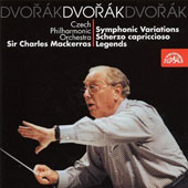 Dvor&#225;k: Symphonic Variations; Scherzo capriccioso; Legends
