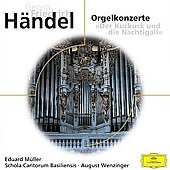 H&#228;ndel: Orgelkonzerte