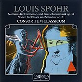 Spohr: Notturno, Nonett / Consortium Classicum