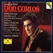 Verdi: Don Carlos / Abbado, Domingo, Ricciarelli, et al