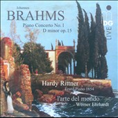 Brahms: Piano Concerto No. 1; Intermezzo, Op. 119 / Hardy Rittner, Erard piano 1854
