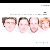 White: String Quartets by Joseph Haydn and Anton Webern / Amaryllis Quartet