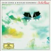 On Two Pianos / Chick Corea and Nicolas Econamou, pianos