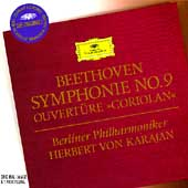 Beethoven: Symphonie no 9, etc / Karajan, Berlin PO