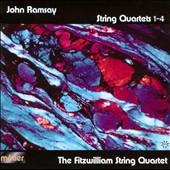 John Ramsay: String Quartets 1-4 / The Fitzwilliam Quartet