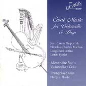 Court Music for Cello & Harp - Duport, Bochsa, Spohr, et al