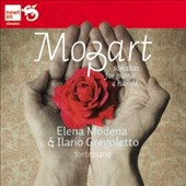 Mozart: Sonatas for Piano Four Hands / Elena Modena and Ilario Gregoletto, pianos