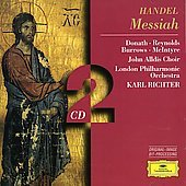 Handel: Messiah / Richter, Donath, Reynolds, Burrows, et al