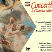 Concerti &#226; Clarino solo  / Bauer, Kraus, Camerata Fulda