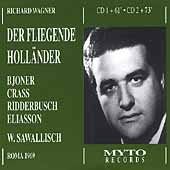 Wagner: Der Fliegende Holl&auml;nder / Sawallisch, Bjoner, et al