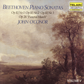 Beethoven: Piano Sonatas Vol V / John O'Conor