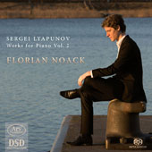 Sergei Lyapunov (1859-1924): Works for Piano, Vol. 2 / Florian Noack, piano