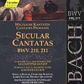 Edition Bachakademie Vol 66 - Secular Cantatas BWV 210-211