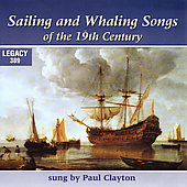 Paul Clayton: Whaling and Sailing Songs from the Days of Moby Dick