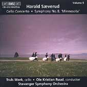 Saeverud: Cello Concerto, Symphony no 8 / Mork, Ruud, et al