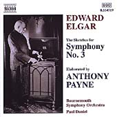 Elgar-Payne: Symphony no 3 / Daniel, Bournemouth SO