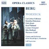 Berg: Wozzeck / Segerstam, Falkman, Dalayman, Qvale