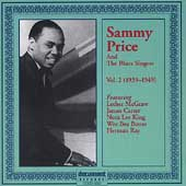 Sammy Price: Sammy Price and the Blues Singers, Vol. 2: 1939-1949