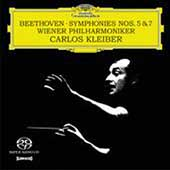Beethoven: Symphonies no 5 & 7 / Kleiber, Vienna PO