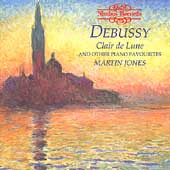 Debussy: Clair de Lune and other piano favourites / Jones